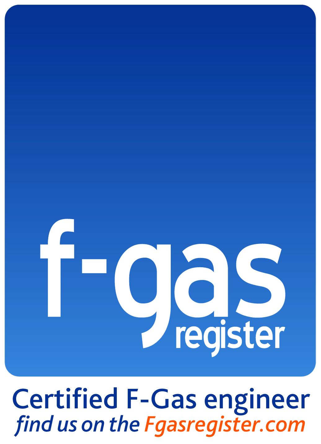 Fgas certified logo