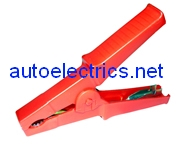 red 120a jump lead clip
