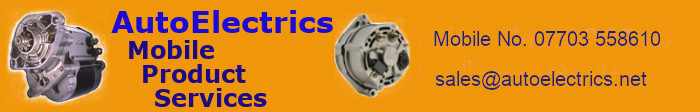 autoelectrics 01952 247007 logo header